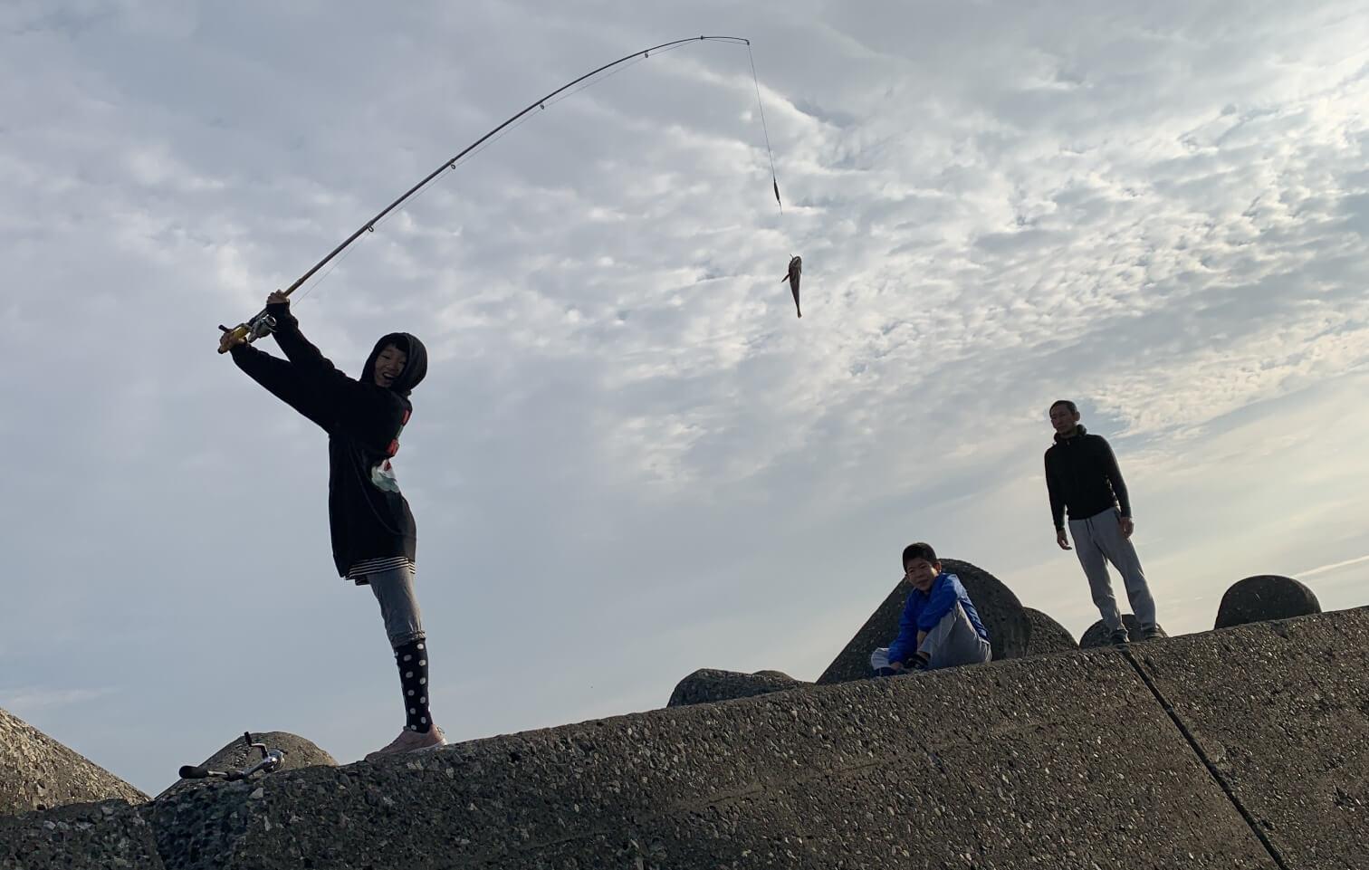 釣りの写真