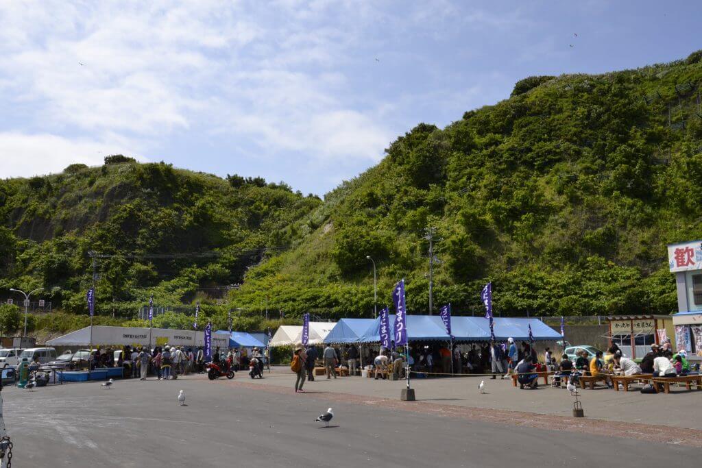 日本一の味覚 天売島ウニ祭り