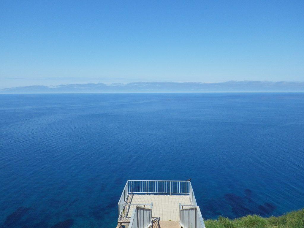 青い海がある贅沢