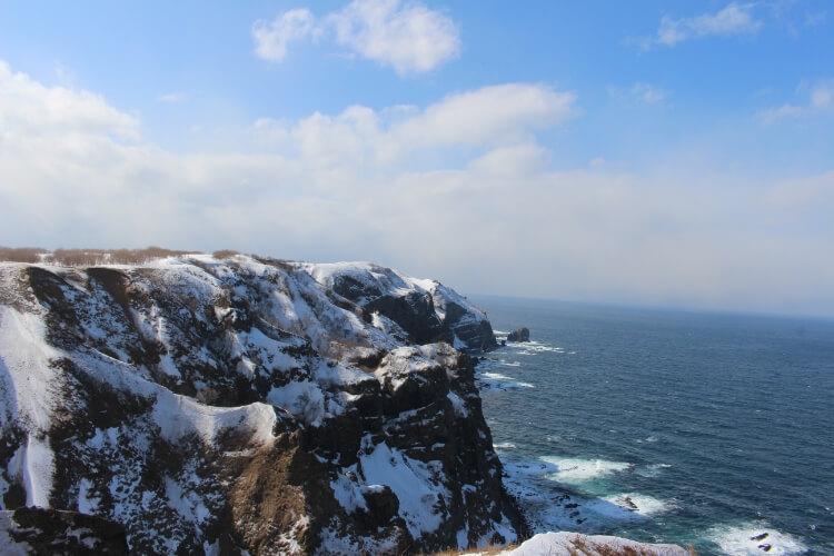 天売島の冬