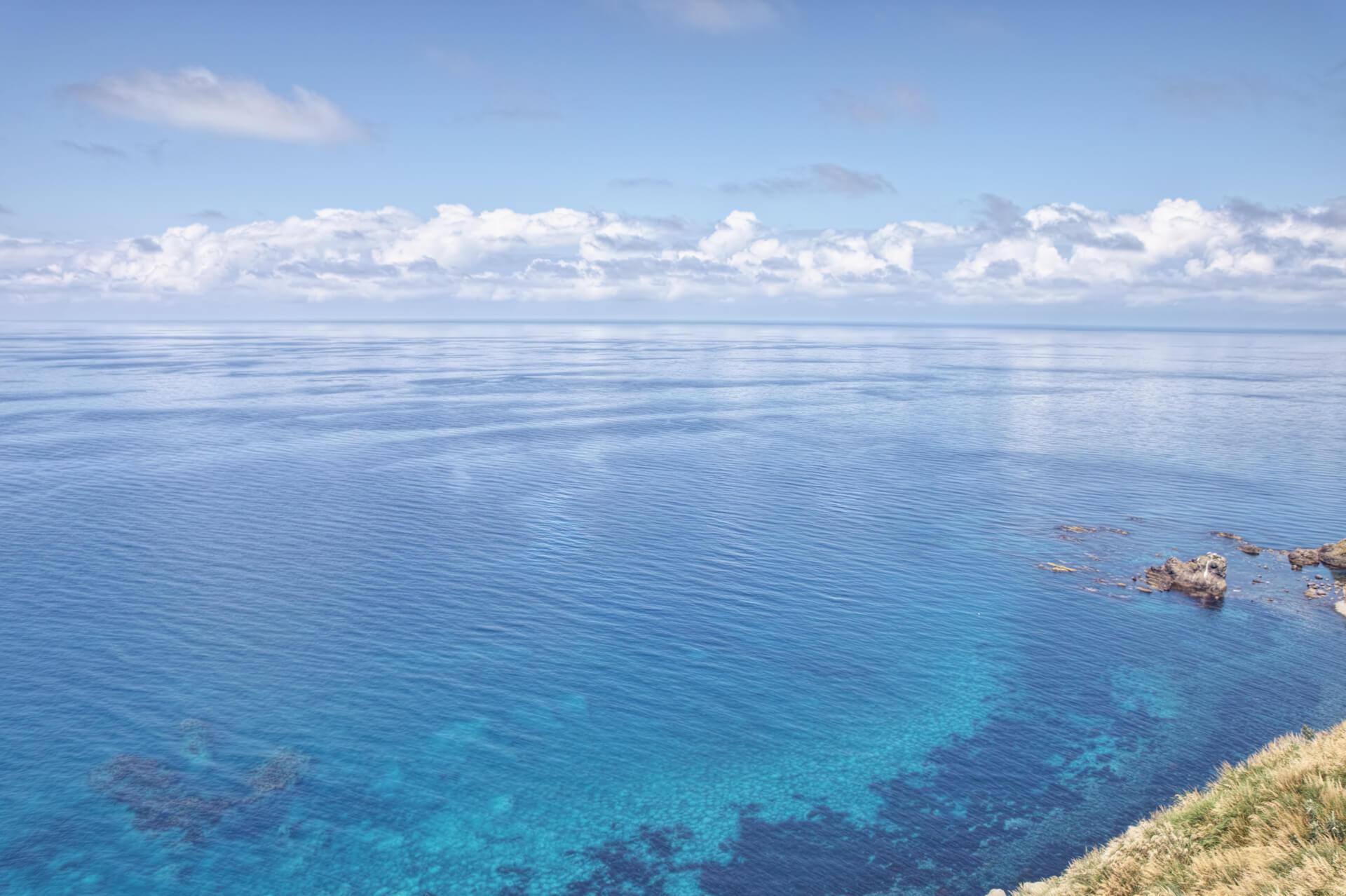 焼尻島の夏の写真
