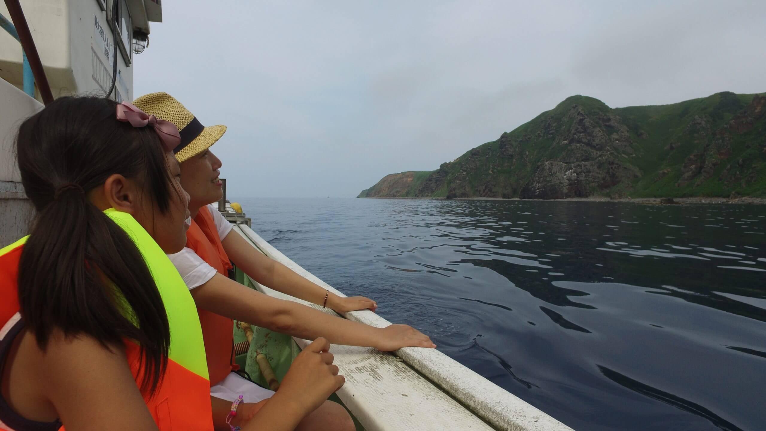 漁船クルーズの写真