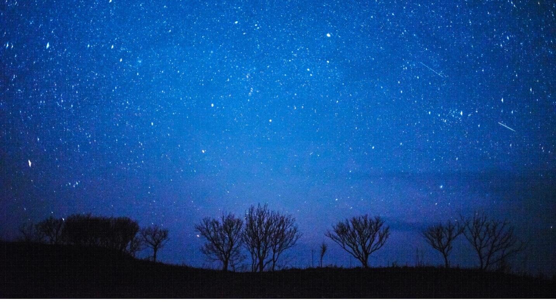 天然プラネタリウムの写真